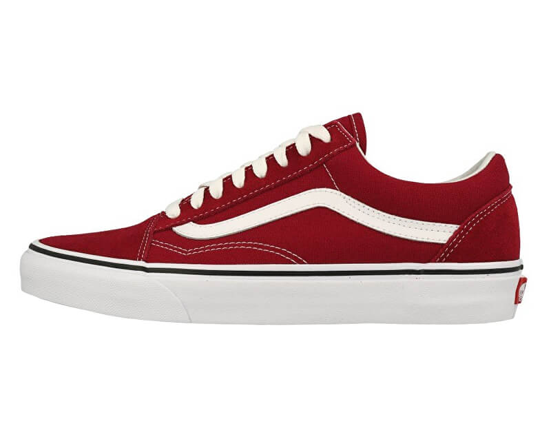 VANS Tenisky UA Old Skool Rumba Red/True White VN0A38G1VG41