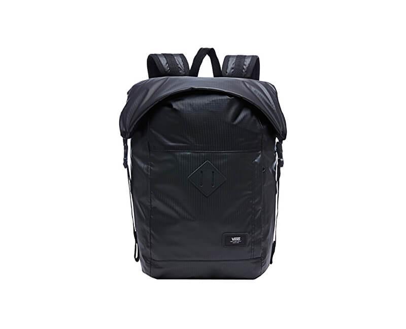 VANS Pánský batoh Fend Roll Top Backpack Black VA36YJBLK
