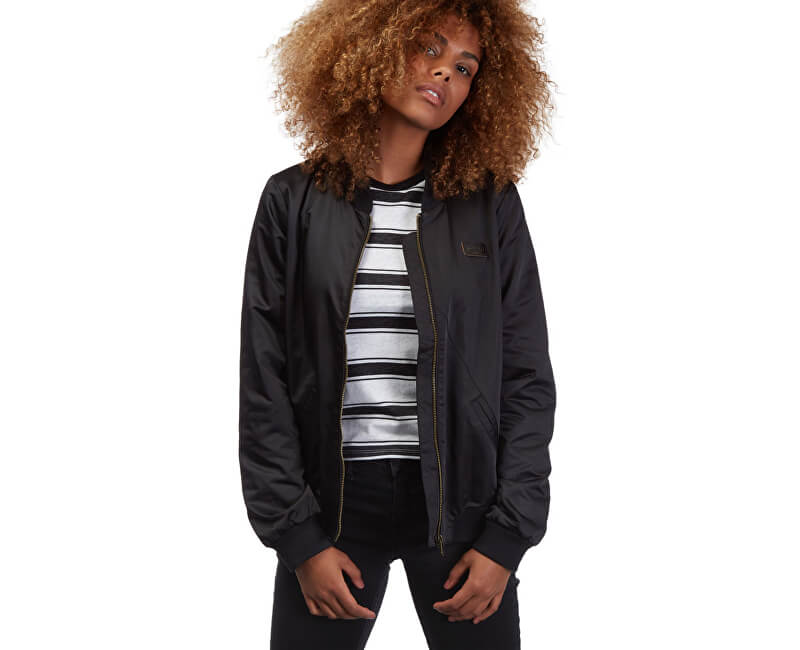 Volcom Doamnelor jacheta În My Lane Jacheta B1511751-BLK