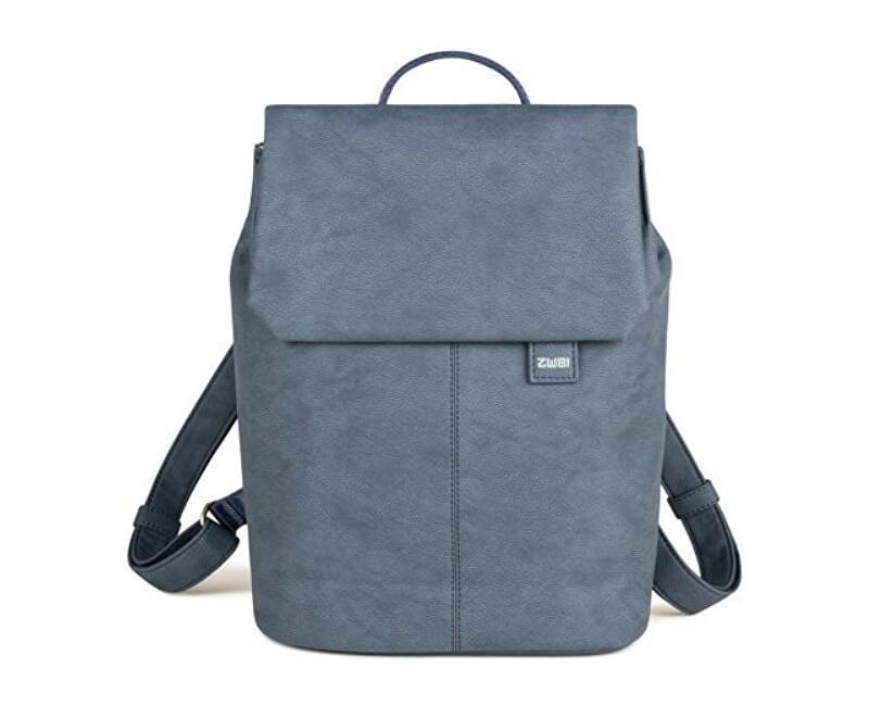 Zwei Dámský trendy batoh MR13- nubuk blue Doprava ZDARMA  bc671315f1