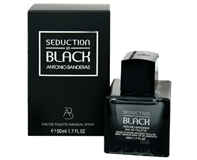 Antonio Banderas Seduction In Black - EDT
