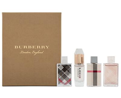 Burberry - London EDP 5 ml + Body EDP 4,5 ml + Brit Rhythm Floral EDT 5 ml + Brit EDP 5 ml