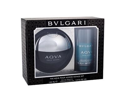 Aqva Pour Homme - EDT 100 ml + tuhý deodorant 75 ml