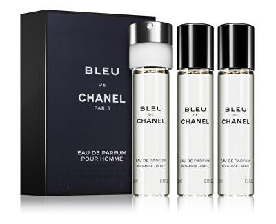 Bleu De Chanel - EDP náplň 3 x 20 ml