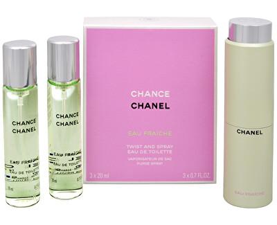 Chanel Chance Eau Fraiche - EDT (3 x 20 ml)
