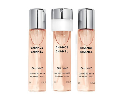 Chance Eau Vive - EDT náplň 3 x 20 ml