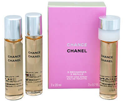 Chanel Chance - EDT - náplň (3 x 20 ml)