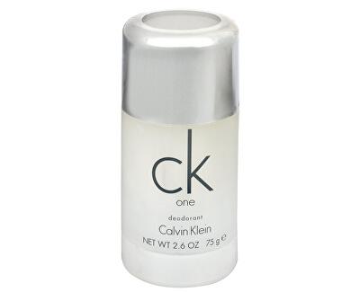CK One - tuhý deodorant