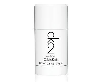 Calvin Klein CK2 - tuhý deodorant