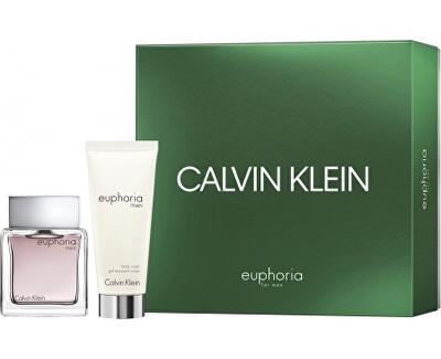 Euphoria Men - EDT 50 ml + sprchový gel 100 ml