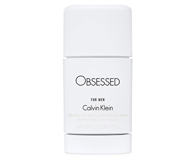 Obsessed For Men - tuhý deodorant