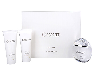 Calvin Klein Obsessed For Women - EDP 100 ml + tělové mléko 100 ml + sprchový gel 100 ml
