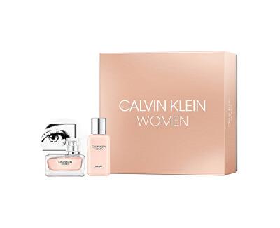 Calvin Klein Women - EDP 30 ml + tělové mléko 100 ml