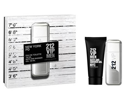 212 VIP Men - EDT 100 ml + gel de duș 100 ml