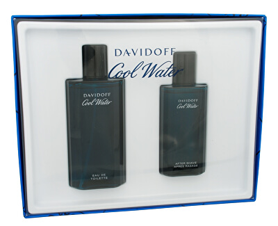 Davidoff Cool Water Man - EDT 125 ml + voda po holení 75 ml