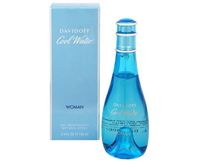 Davidoff Cool Water Woman - deodorant ve spreji