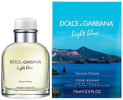 Light Blue Discover Vulcano Pour Homme - EDT