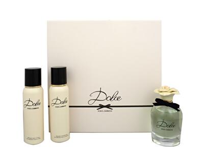 Dolce & Gabbana Dolce - EDP 75 ml + lotiune de corp 100 ml + gel de duș 100 ml