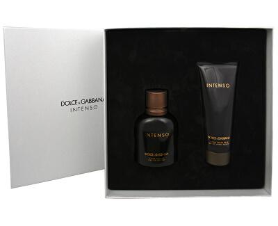 Dolce & Gabbana Intenso Pour Homme - EDP 75 ml + balsam după bărbierit 100 ml