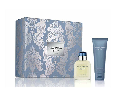 Light Blue Pour Homme - EDT 75 ml + balsamo dopobarba 75 ml