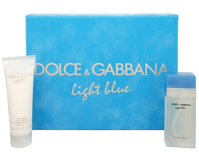 Light Blue - EDT 25 ml + cremă de corp 50 ml