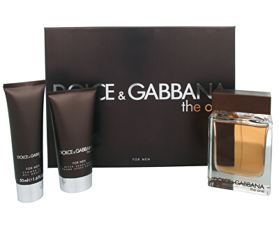 Dolce & Gabbana The One For Men - EDT 100 ml + balsam after shave 75 ml + gel de duș 50 ml