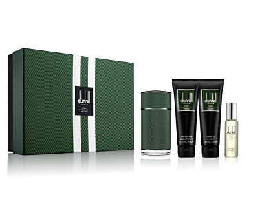 Dunhill Icon Racing - EDP 100 ml + EDP 30 ml + sprchový gel 90 ml + balzám po holení 90 ml