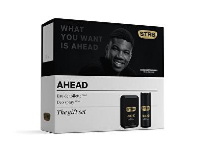 STR8 Ahead - EDT 50 ml + deodorant ve spreji 150 ml