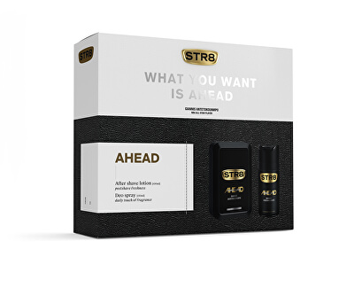STR8 Ahead - voda po holení 100 ml + deodorant ve spreji 150 ml
