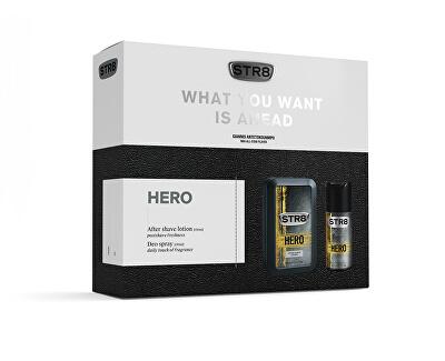 STR8 Hero - voda po holení 100 ml + deodorant ve spreji 150 ml