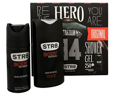 STR8 Original - deodorant spray 150 ml + gel de duș 250 ml