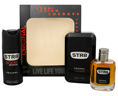 STR8 Original - EDT 50 ml + deodorant ve spreji 150 ml