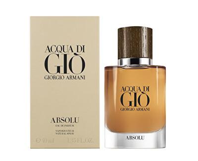 Acqua Di Gio Absolu - EDP - SLEVA - bez celofánu,chybí cca 2 ml