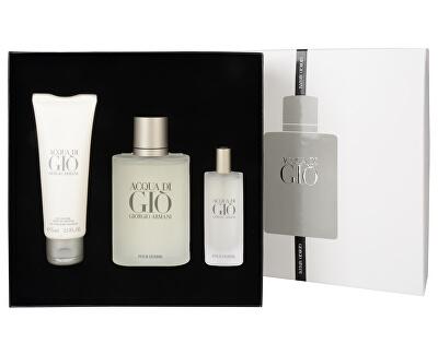 Armani Acqua Di Gio Pour Homme- EDT 100 ml + EDT 15 ml + sprchový gel 75 ml