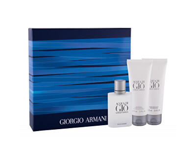 Acqua Di Gio Pour Homme - EDT 50 ml + gel doccia 75 ml + balsamo dopobarba 75 ml