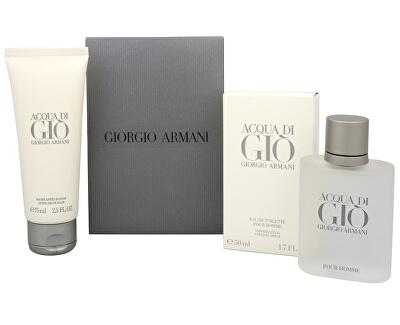 Acqua Di Gio Pour Homme - EDT + balsamdupă ras 75 ml