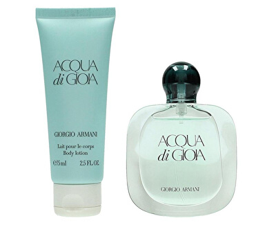 Acqua Di Gioia - EDP 100 ml + tělové mléko 75 ml