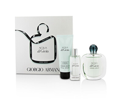 Armani Acqua Di Gioia - EDP 50 ml + EDP 15 ml + tělové mléko 75 ml