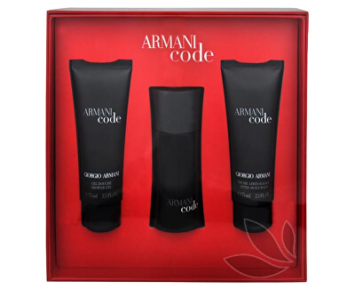Armani Code For Men - EDT 50 ml + balsam dupa ras 75 ml + gel de duș 75 ml