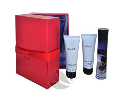 Code For Women - EDP 50 ml + sprchový gel 75 ml + tělové mléko 75 ml
