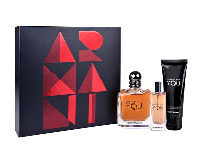 Emporio Armani Stronger With You - EDT 100 ml + EDT 15 ml + sprchový gel 75 ml