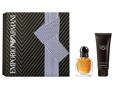 Emporio Armani Stronger With You - EDT 30 ml + sprchový gel 75 ml