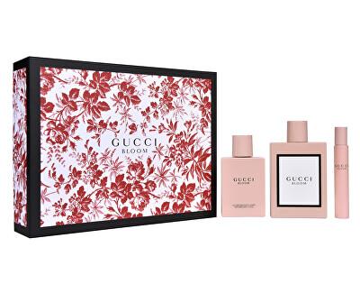 Gucci Bloom - EDP 100 ml + tělové mléko 100 ml + EDP 7,4 ml