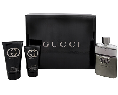 Gucci Guilty Pour Homme - EDT 90 ml + balsam după ras 75 ml + gel de duș 50 ml