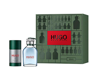 Hugo - EDT 75 ml + tuhý deodorant 75 ml