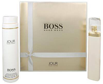 Boss Jour Pour Femme - EDP 75 ml + telové mlieko 200 ml