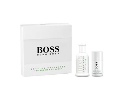 Boss No. 6 Bottled Unlimited - EDT 100 ml + dezodor 75 ml