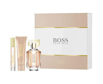 Boss The Scent For Her - EDP 50 ml + EDP 7,4 ml + tělové mléko 50 ml