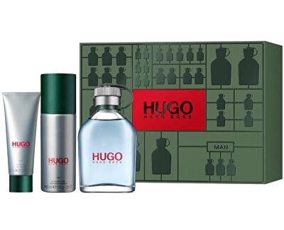 Hugo - EDT 125 ml + deodorante spray 150 ml + gel doccia 50 ml