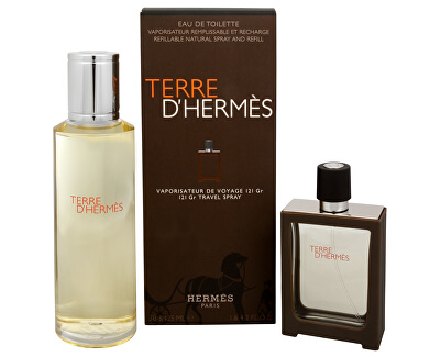 Hermes Terre D` Hermes - EDT 30 ml (plnitelná) + EDT 125 ml (náplň)